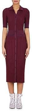 Altuzarra Women's Olivia Rib-Knit Shirtdress