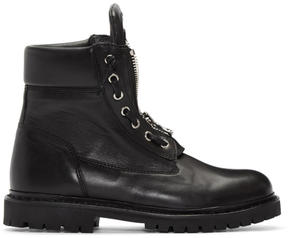 Balmain Black Taiga Boots