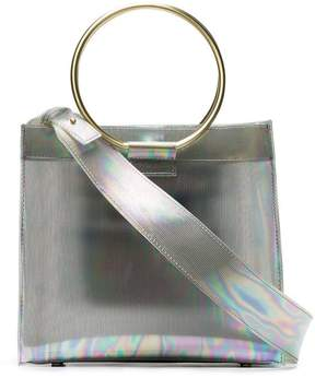 Tara Zadeh Roya mini iridescent tote bag
