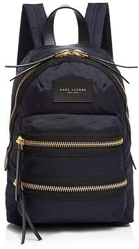 Marc Jacobs Biker Mini Nylon Backpack - MIDNIGHT BLUE/GOLD - STYLE