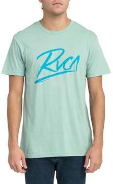 RVCA Scribe Logo Tee