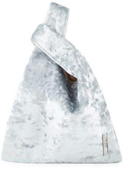 Hayward Mini Shopper Crushed Velvet Tote Bag