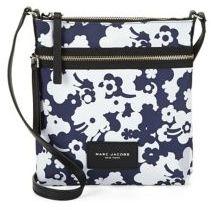 Marc Jacobs Floral Nylon Crossbody Bag - BLUE MULTI - STYLE
