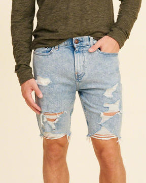 Hollister Classic Fit Denim Shorts