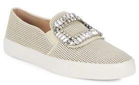 Karl Lagerfeld Paris Ermines Embellished Slip-On Sneakers