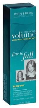 John Frieda Luxurious Volume Fine to Full Blow Out Spray 1oz