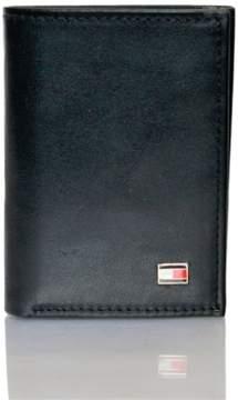 Tommy Hilfiger Men's Oxford Slim Credit Card Trifold Black