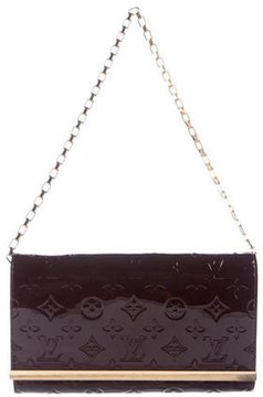Louis Vuitton Vernis Ana Clutch - BROWN - STYLE