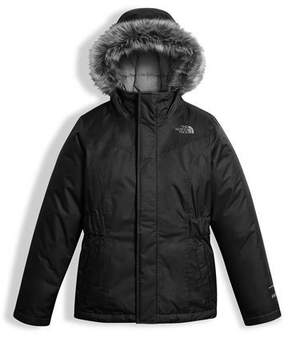 The North Face Greenland Down Parka w/ Faux-Fur Trim, Black, Size XXS-XL