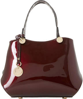 Dune Dinidimogen patent faux-leather handbag