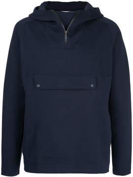 Lacoste zip neck hoodie