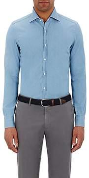 Isaia Men's Twill Leuca Shirt