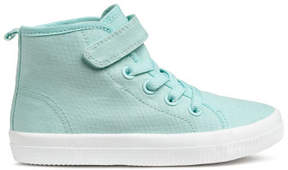 H&M Hi-top trainers - Turquoise
