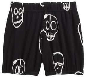 Nununu kull Mask Yoga Shorts