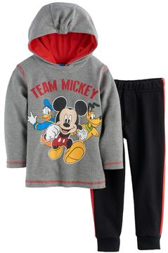 Disney Disney's Mickey Mouse Baby Boy Thermal Hoodie & Pants Set