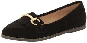 London Rebel *London Rebel Suede effect fringe loafers