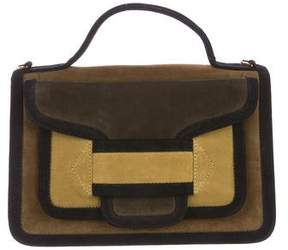 Pierre Hardy Suede Quadri Bag