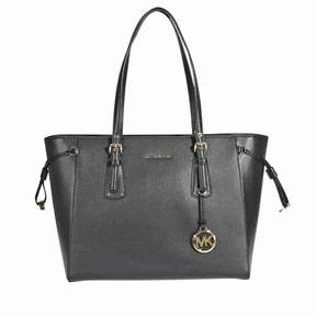Michael Kors Voyager Medium Multifunction Tote - Black - BLACK - STYLE
