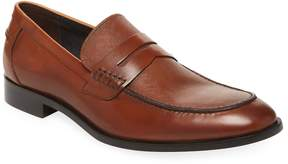 Gordon Rush Men's Apron-Toe Penny Leather Loafer