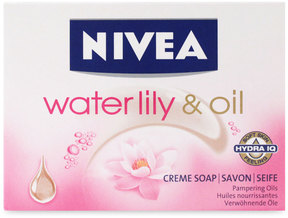 Nivea Waterlily + Oil Soap by 100g Soap)