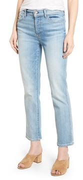 7 For All Mankind Women's Edie High Waist Crop Jeans