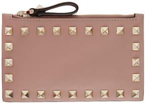 Valentino Pink Garavani Rockstud Coin Pouch