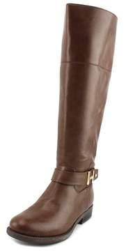 Tommy Hilfiger Shahar Wide Calf Women US 9.5 Brown Knee High Boot