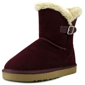 Style&Co. Style & Co Tiny 2 Women Round Toe Suede Burgundy Winter Boot.
