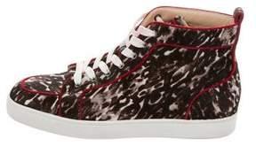 Christian Louboutin Rantus Orlato Ponyhair Sneakers