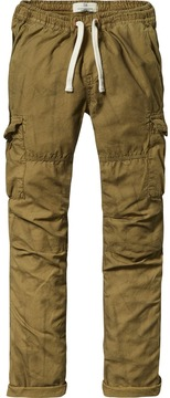 Scotch & Soda Cotton Cargo Pants | Relaxed Slim Fit