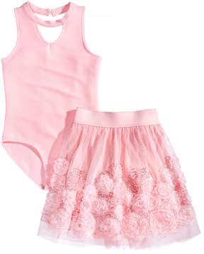 Beautees 2-Pc. Bodysuit & Tutu Skirt Set, Big Girls (7-16)