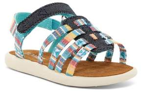 Toms Multi Blanket Stripe Huarache Sandal (Baby, Toddler, & Little Kid)