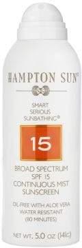 Hampton Sun Luxe Sport SPF 15 Continuous Mist Sunscreen/5 oz.