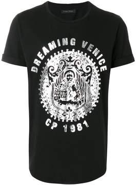 Christian Pellizzari Dreaming Venice foil print T-shirt