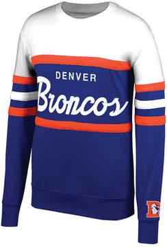 Mitchell & Ness Men's Denver Broncos Head Coach Crew Sweatshirt