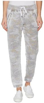 Allen Allen Camo Jog Pants Women's Casual Pants