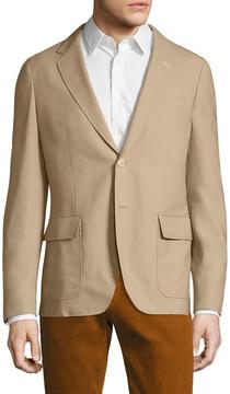 Gant Men's Chamotte Wool Notch Lapel Sportcoat