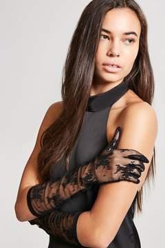 Forever 21 Eyelash Lace Gloves