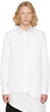 D.gnak By Kang.d White Folded Side Shirt
