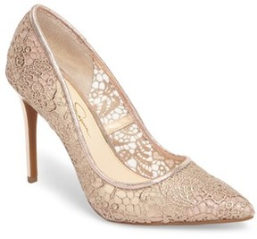 Jessica Simpson Women's Praylee2 Paisley Lace Pump