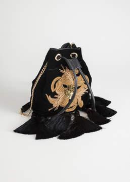 And other stories Embellished Tassel Crossbody Bag