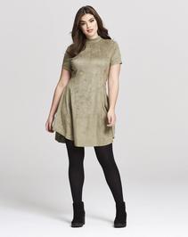 AX Paris Suedette Swing Dress