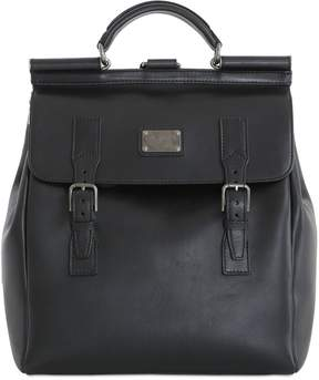 Dolce & Gabbana Leather Maxi Backpack