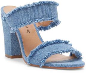 Lucky Brand Mkennah Denim Heel