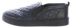Gucci Boys' Guccissima Slip-On Sneakers
