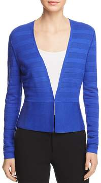 BOSS Farlotte Textured Striped Cardigan