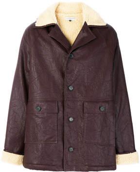 Gosha Rubchinskiy oversized button-down coat