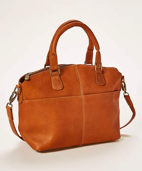 Le Donne Tan Esperanto Leather Satchel