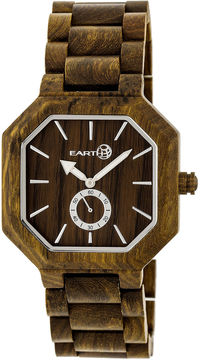 Earth Wood Acadia Unisex Green Bracelet Watch-Ethew4704