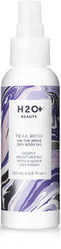 H20 Plus On The Move Dry Body Oil Teak Rose